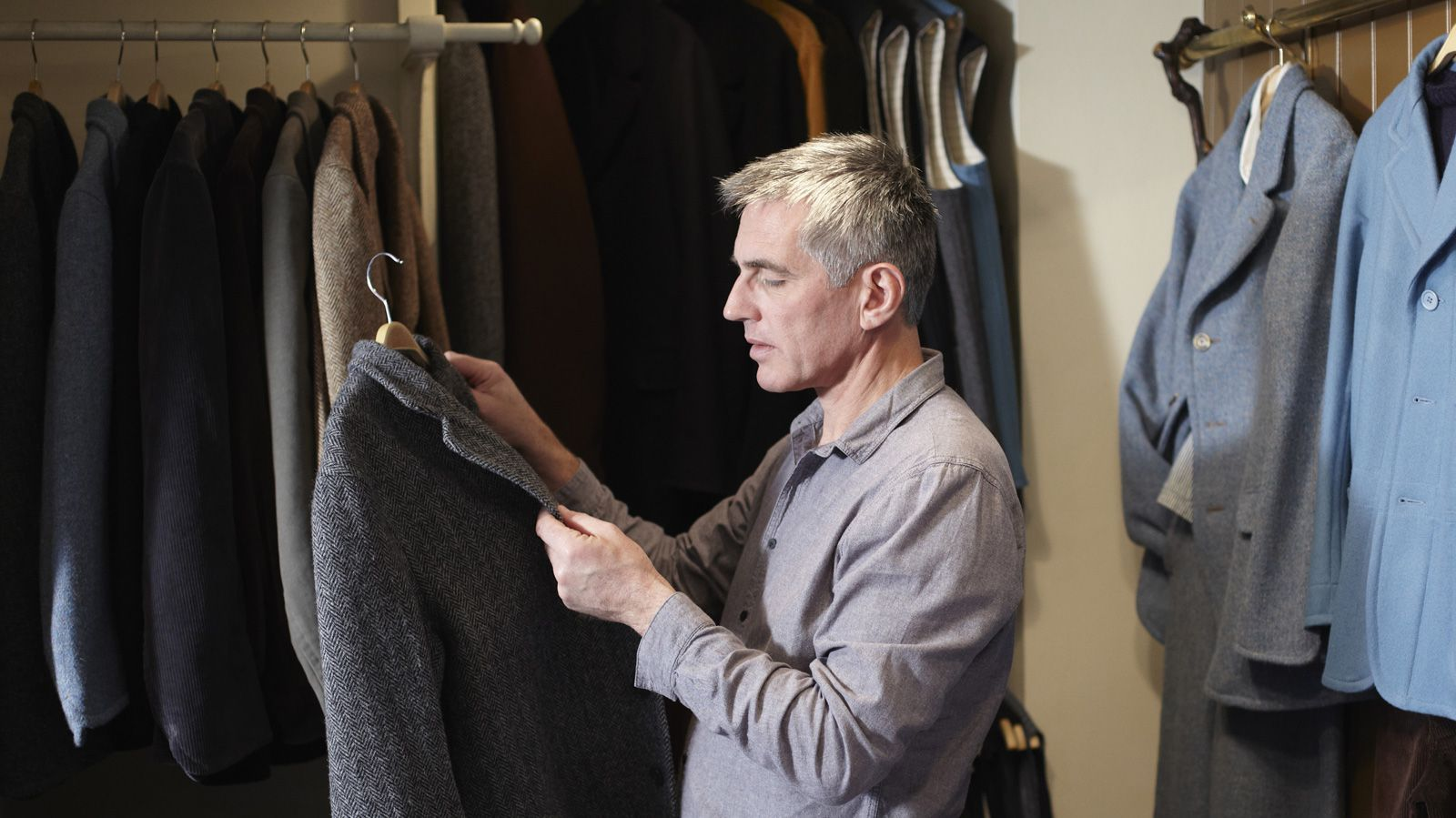 older man shopping | Product Development: Team Awesome | Pinterest ...