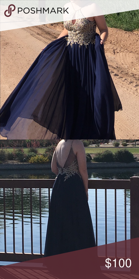Only worn once. Dresses Prom