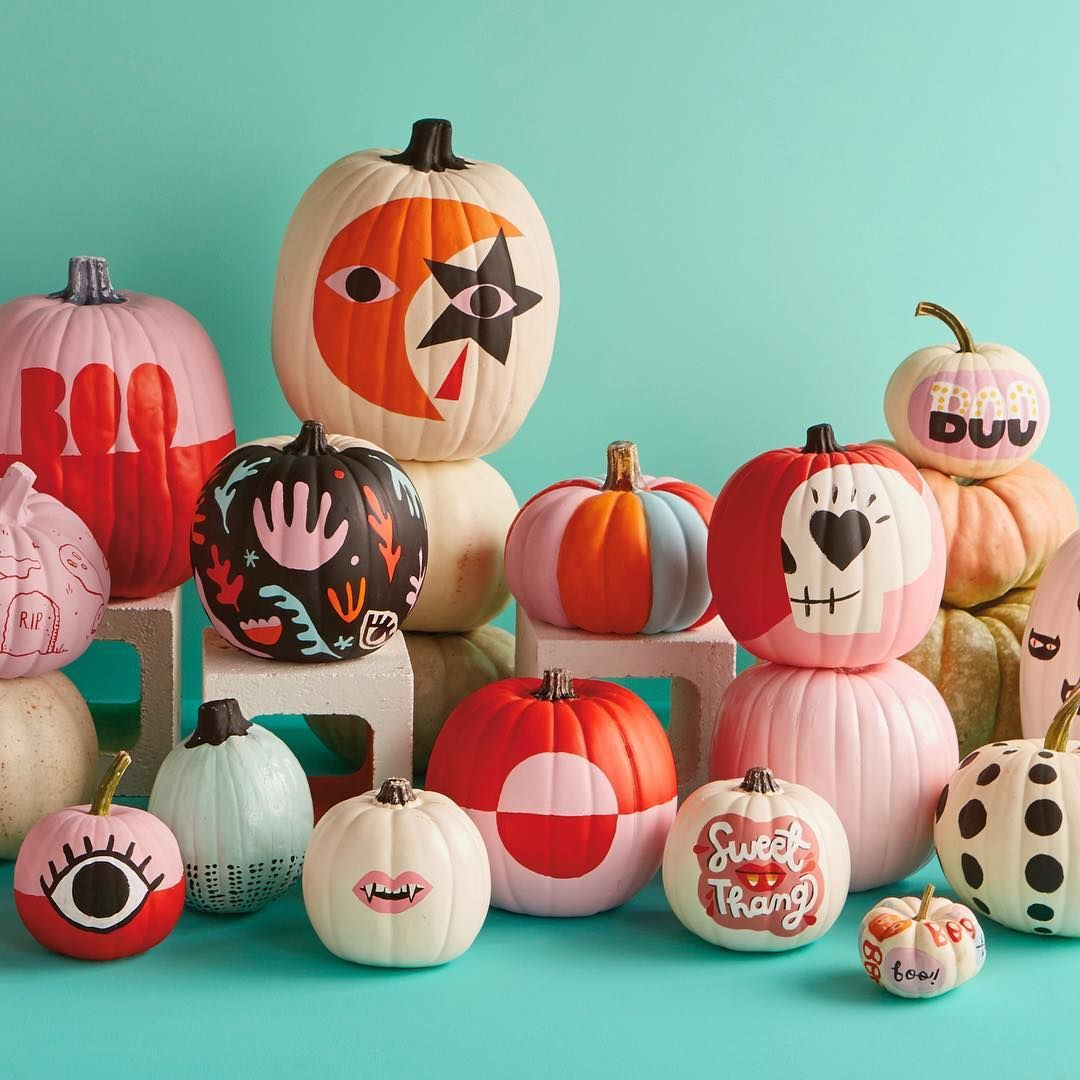 30+ Creative Painted Pumpkin Ideas for Those Who Hate Carving