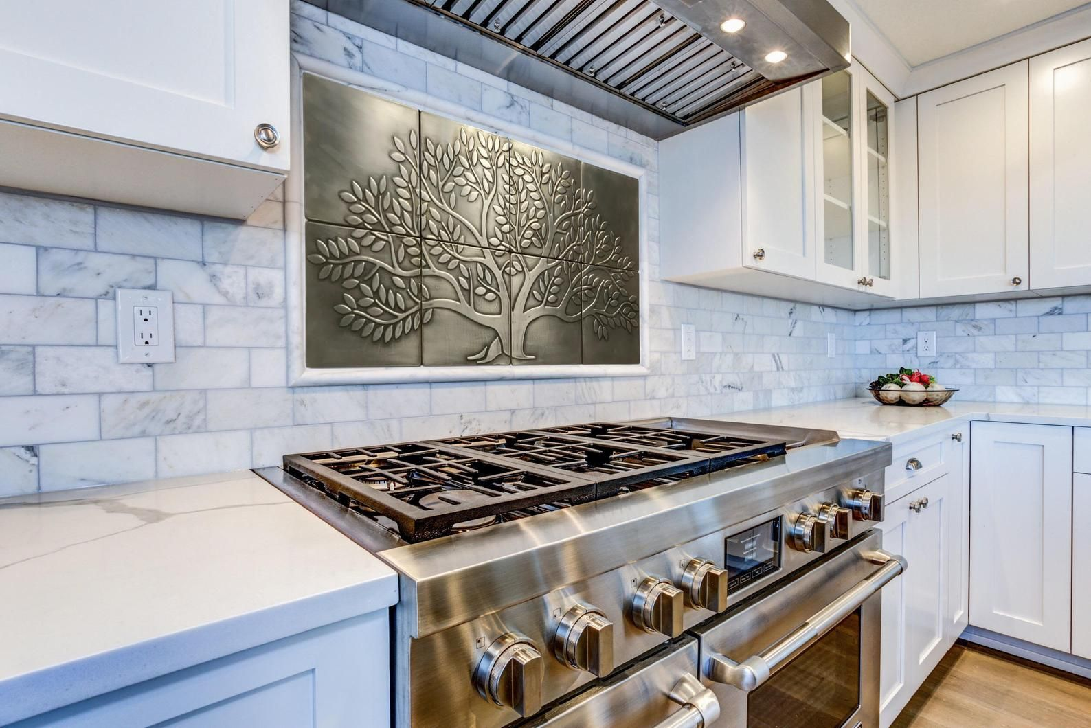 Tree Of Life 8 Handmade 100 Stainless Steel Tiles Perfect For Kitchen Backsplash In 2020 Stainless Steel Tile Stainless Steel Tile Backsplash Kitchen