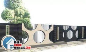 80 desain bentuk pagar rumah minimalis yang unik dan mewah