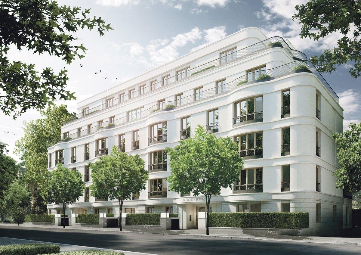 Kentenich hof entspanntes wohnen in cityn he eine for Architektur 20er
