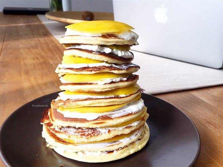 #muskelaufbau #vegetarisch #mittagessen #abendessen #training #geeignet #pancakes #pamcakes #abnehme...