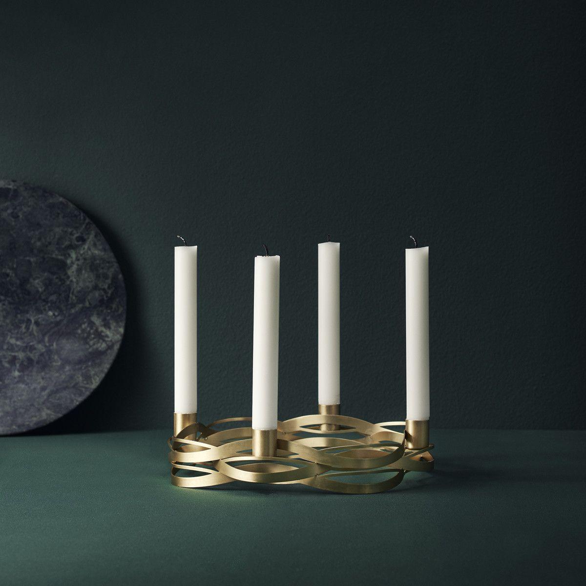 tangle advent kerzenhalter von stelton kaufen gem tlichkeit kerzenhalter und kupfer. Black Bedroom Furniture Sets. Home Design Ideas