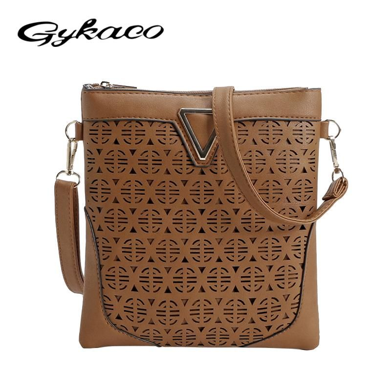 b32ebda39e Luxury Handbags Women Bags Designer Hollow Out Women Messenger Bags  Shoulder Crossbody Bag Women Leather Handbags Bolsa Feminina