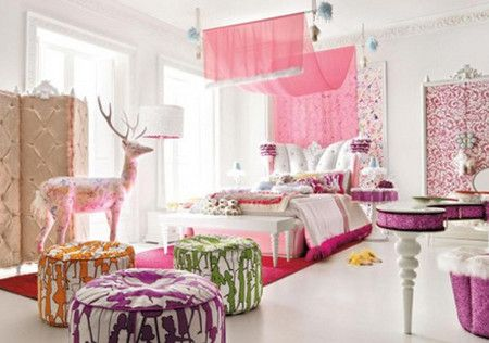 Beautiful Romatic Bedroom Interior Design Ideas - Bedroom