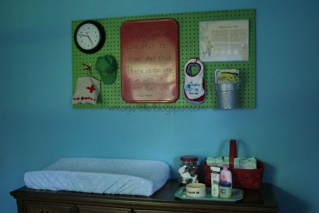 Vintage Ellie: Little Man's Nursery