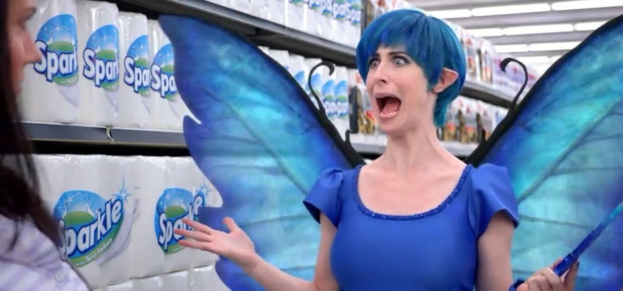 Kerri The Fairy Sparkle Paper Towels