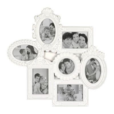 White Venetian Collage Frame | decor | Pinterest | Venetian, Shabby ...