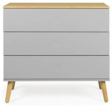 tenzo Dot Kommode, Holz, Grau/Eiche, 90 x 43 x 79 cm Amazonde - möbel martin kaiserslautern küchen