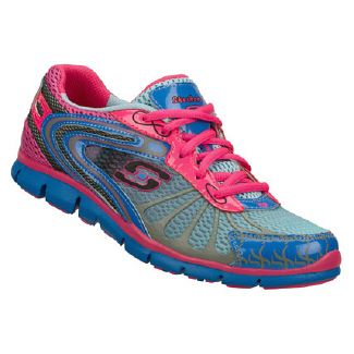c101f1a22149 Skechers Active-Gratis-Running Shoes (Blue Hot Pink Multi) - Women s ...