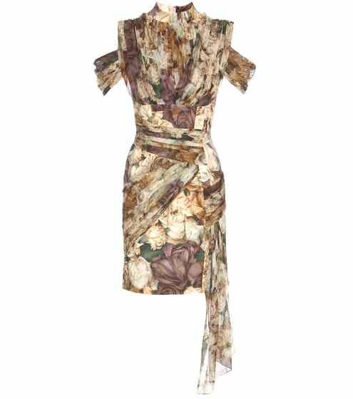 Robe florale imprimée | Christopher Kane