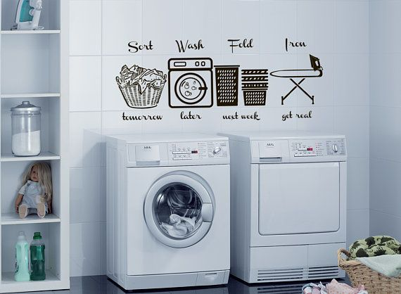 Laundry Room Wall Decal Laundry Wall Decals Laundry Room Etsy Laundry Room Wall Decor Laundry Room Decals Wall Decals Laundry