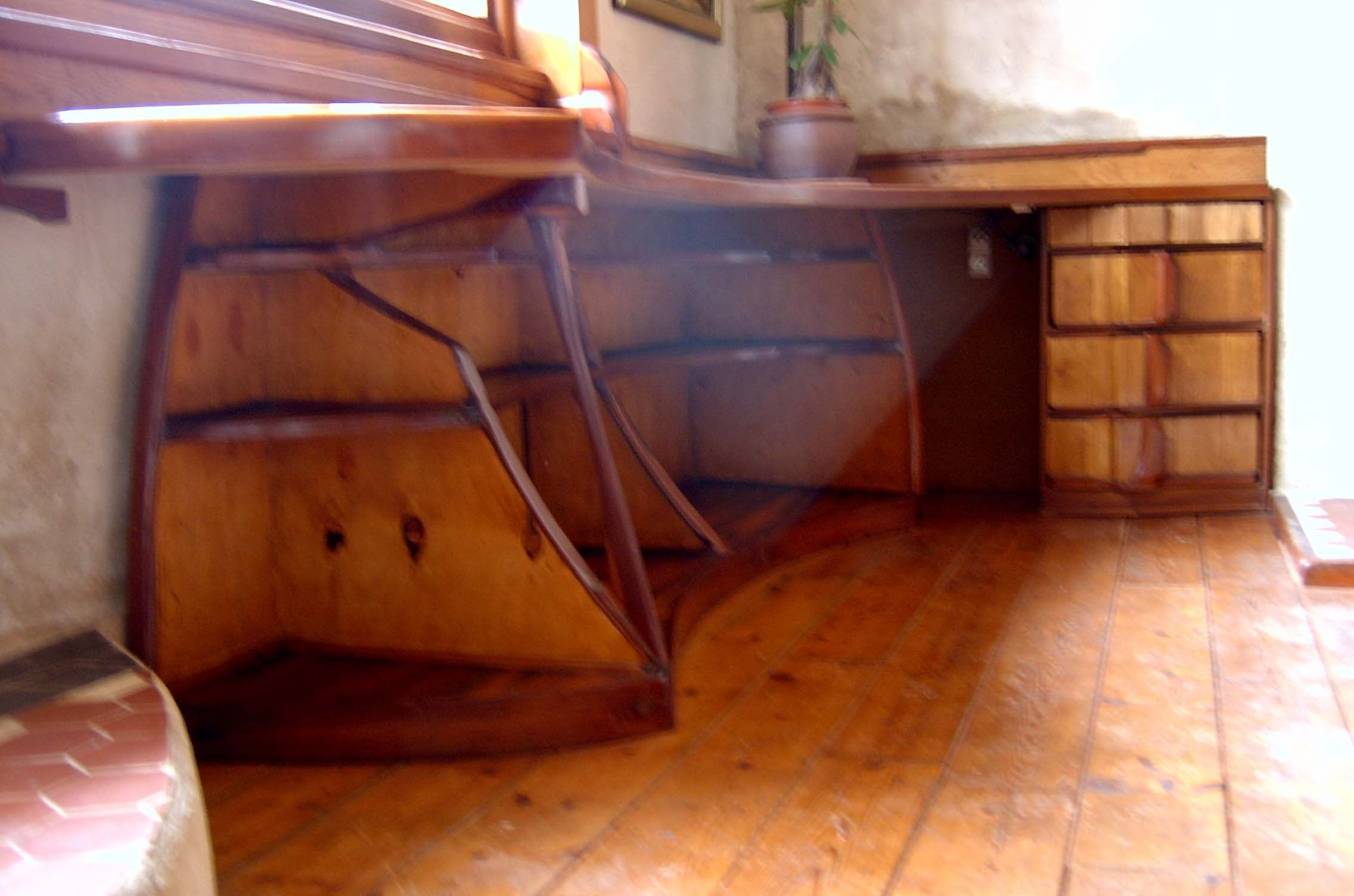 Furniture Made With Red Ceder Scrapwood