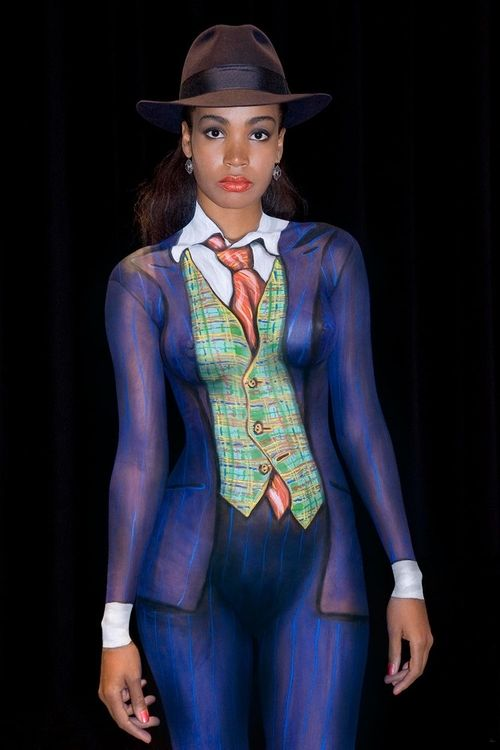 Pin On Body Paint-6528