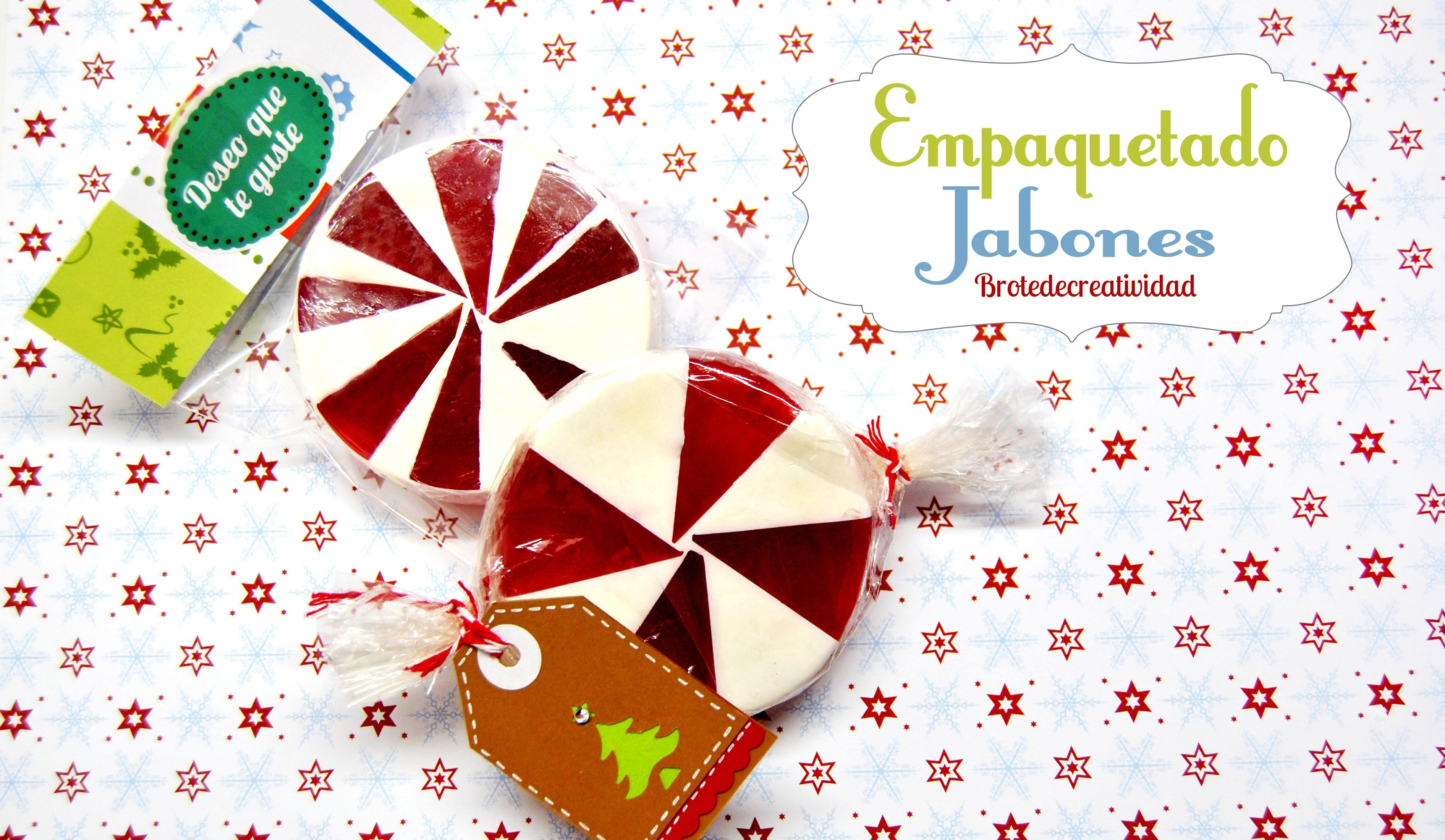 Diy Empaquetado De Jabones Adornos Navidad Pinterest
