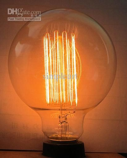 Cheap Light Bulb   Best Antique Vintage Edison Light Bulb 40w 220v  Radiolight Online With $12.57