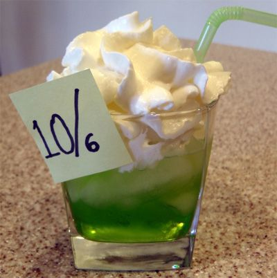 Mad Hatter Cocktail Recipe   Disney or Saint Patrick's Day Drink!