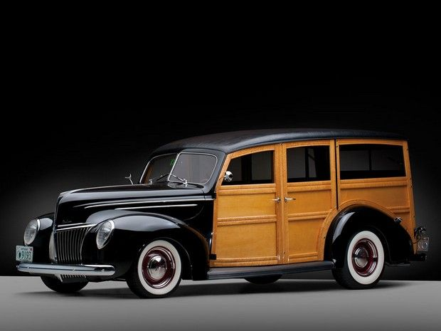 1939 ford deluxe station wagon classics cars voiture dan voitures de collection. Black Bedroom Furniture Sets. Home Design Ideas