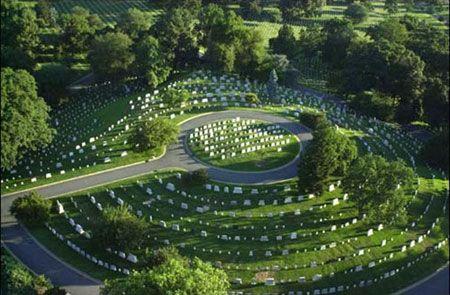 Arlington National Cemetery The Greatest Generation - Arlington cemetery on us map