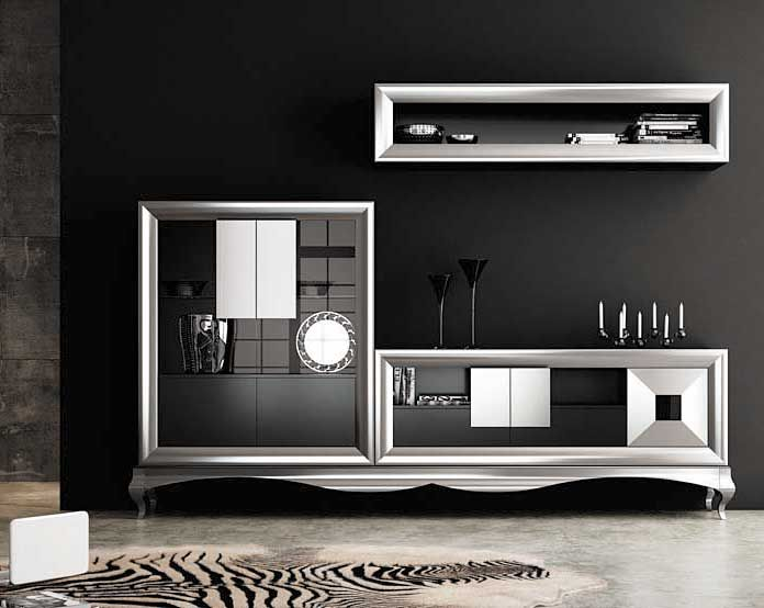 Muebles de sal n modernos decoraci n pinterest sal n for Muebles de salon italianos
