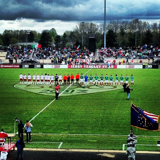 IU Soccer vs Mexico U20 Squad April 28, 2013 in