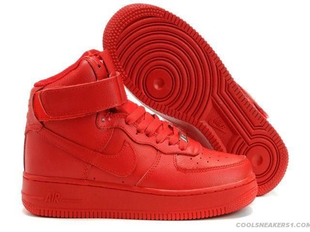 womens nike air force 1 solid red 6c7a68bcb