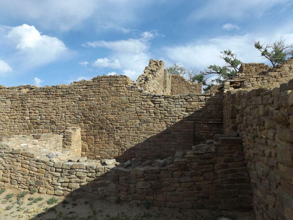 Aztec Ruins National Monument - Aztec, New Mexico   by Dougtone
