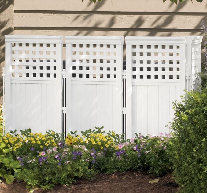 Screened Patio Enclosures Outdoor Screen Enclosure Portable Suncast 4 Panels Fen