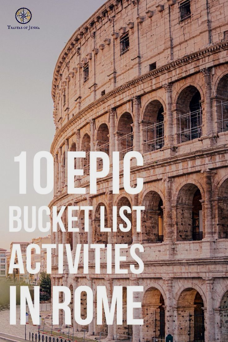 10 epic things to do in Rome, Italy that you MUST add to your bucket list. #romeitaly #bucketlisttravel #bucketlistideas #italytrip #europetravel #europebucketlist #italybucketlist #italytravel…More