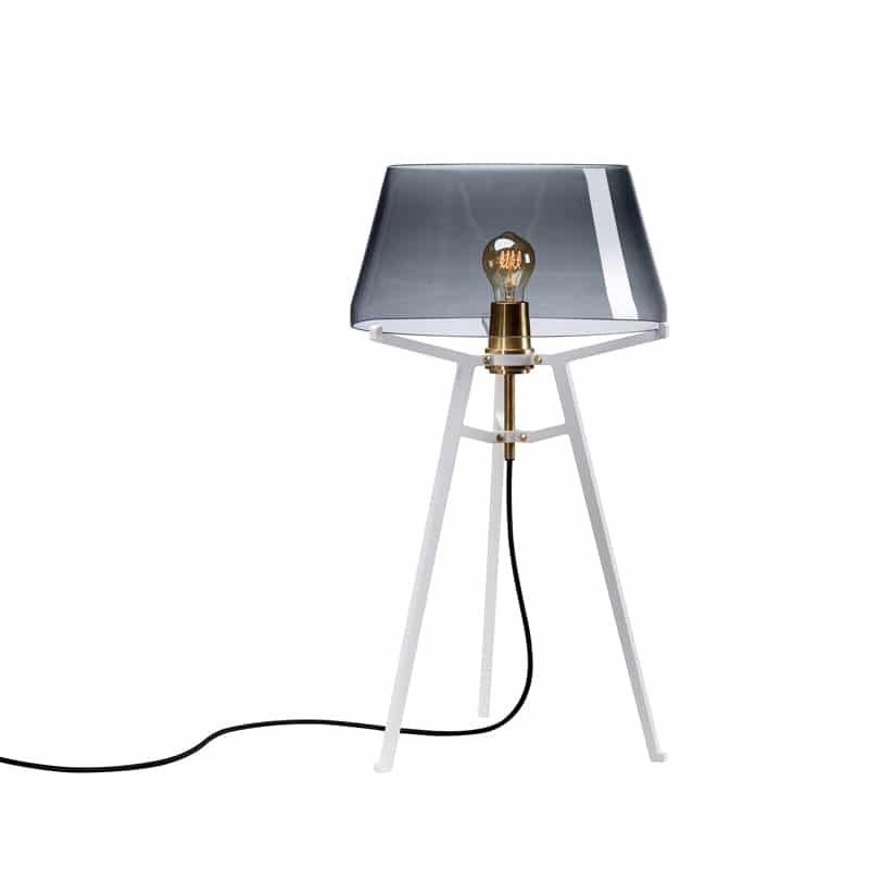 Tonone Ella Design Lamp Kokwooncenter 201709 Tripod Lamp Glass Shades Glass Blowing
