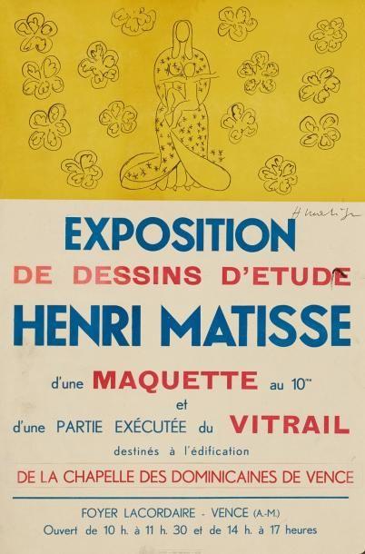HENRI MATISSE (1869-1954) DESSINS Du0027ETUDES POUR AL CHAPELLE DES