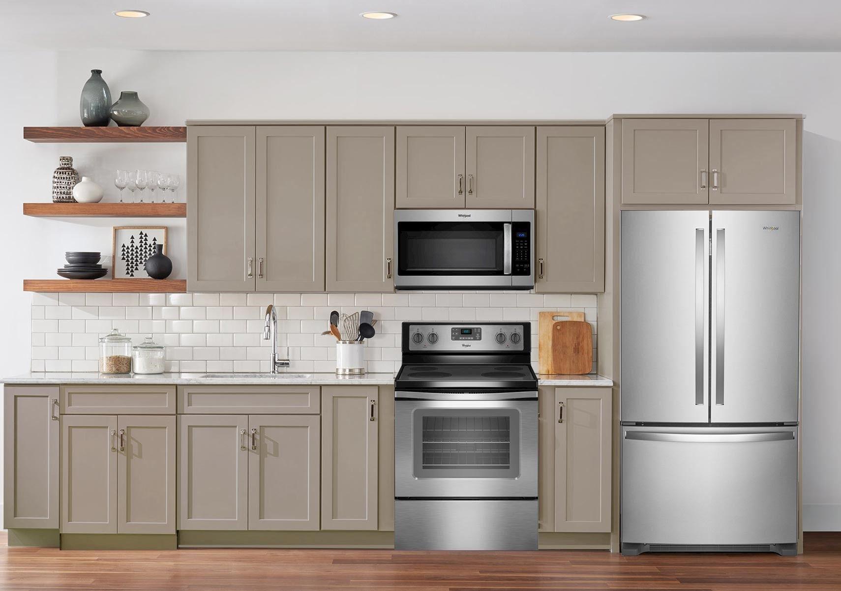 lacks whirlpool 3 pc stainless steel kitchen appliance package stainless steel kitchen on kitchen appliances id=86008