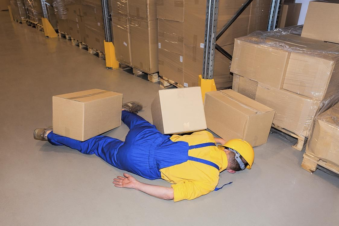 Industrial Accident And Workplace Falls Especially High Among