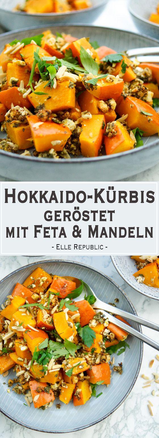 Hokkaido Kurbis Gerostet Mit Feta Rezept Elle Republic Rezept Vegetarische Beilagen Rezepte Kurbis Rezepte Vegetarisch