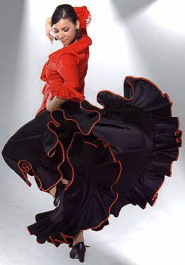 4fc4cdf98cf5e Jupes et robes de Flamenco