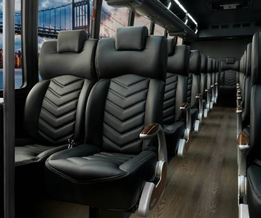 Book your Luxury Bus Rentals in Toronto through VIP Livery Services Transportation!