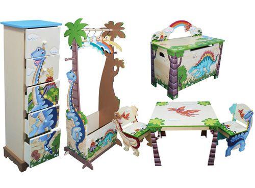 Teamson dinosaur themed furniture   Decor ideas   Pinterest   Room ...