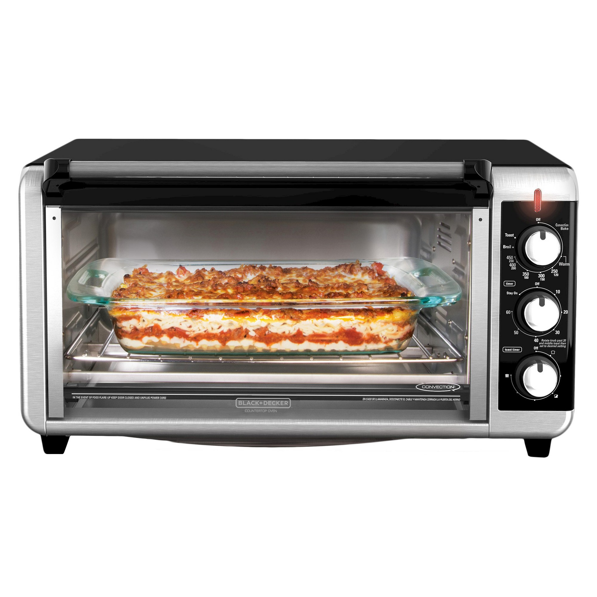 Black Decker Extra Wide Countertop Convection Oven Silver Countertop Convection Oven Convection Toaster Oven Toaster