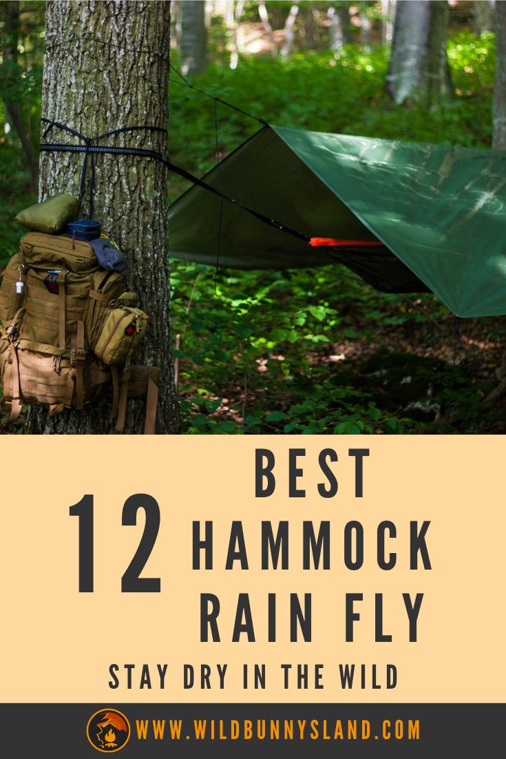 Best Hammock Rain Fly To Stay Dry   Hammock rain fly, Rain ...