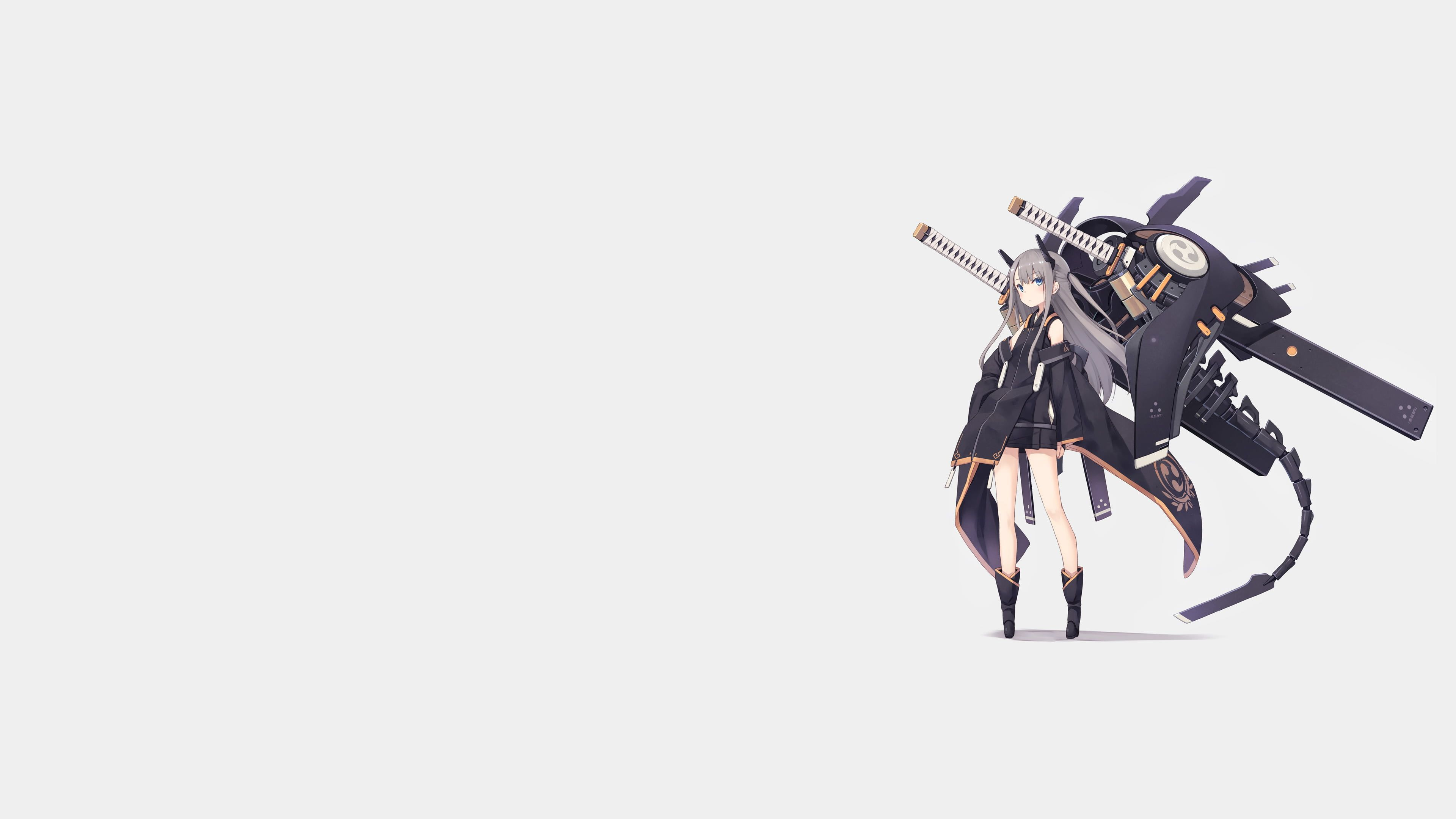 Pin On Anime Anime minimalist wallpaper 4k