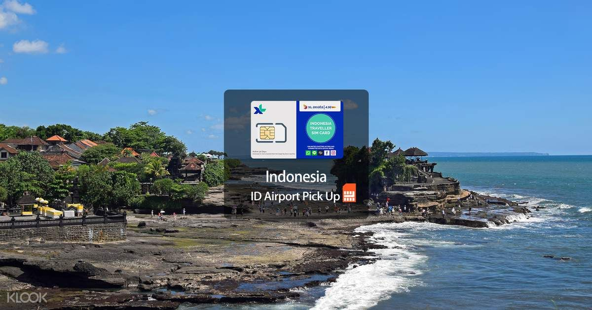 Bali Prepaid Sim Card For Tourists Dps Airport Pick Up Klook