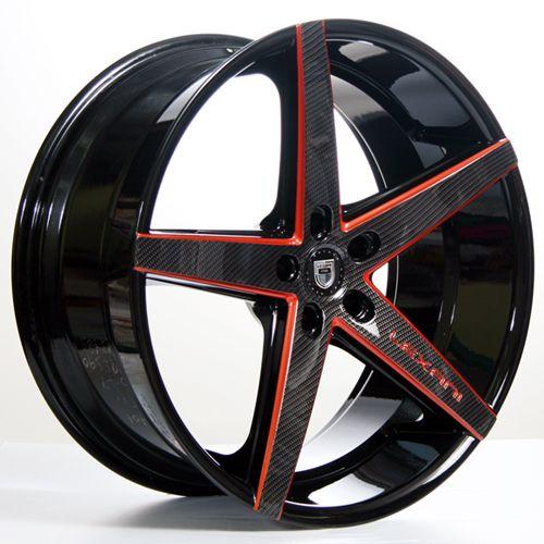 20 22 Lexani Wheels R4 Four Custom Painted Rims Free Shipping