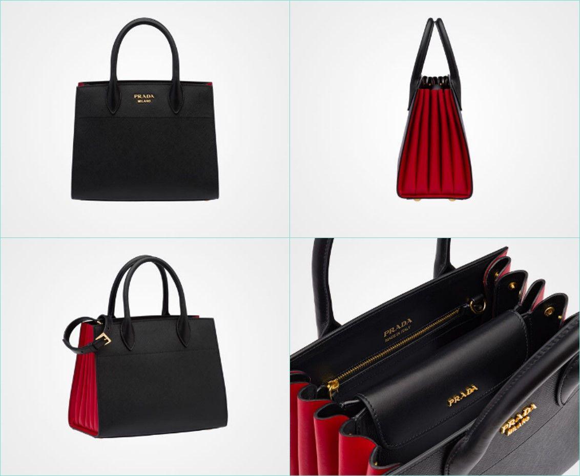 d76b3b91fb0a Prada launches elegant Bibliotèque bag - Bag Vibes