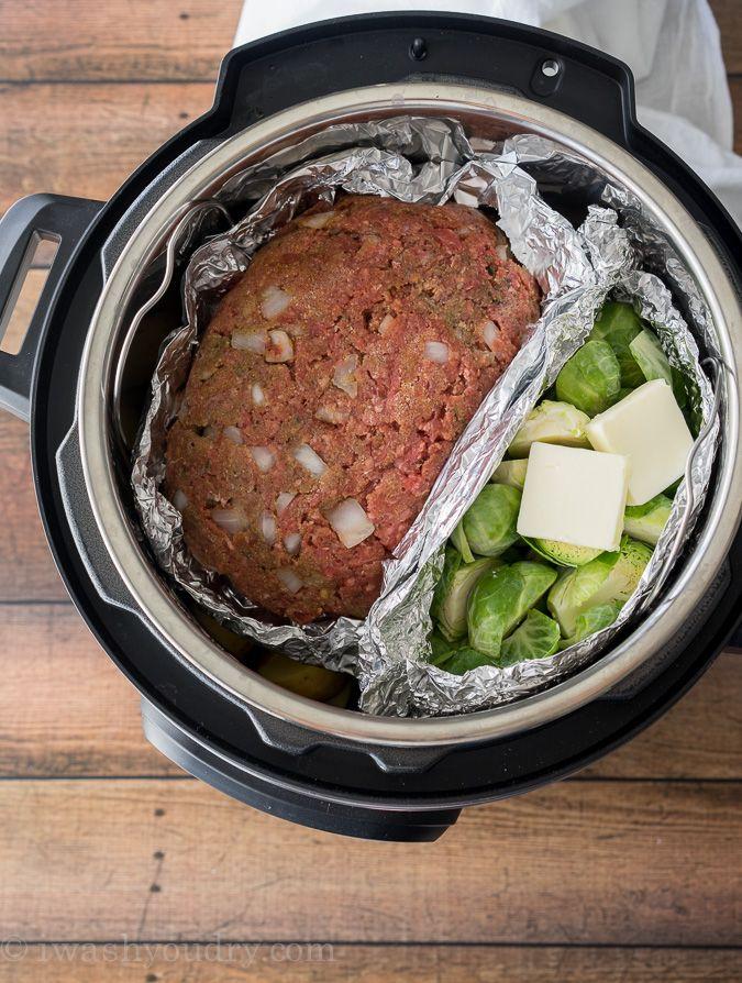 Instant Pot Meatloaf Mashed Potatoes Recipe Instant Pot Dinner Recipes Easy Instant Pot Recipes Pot Recipes Easy