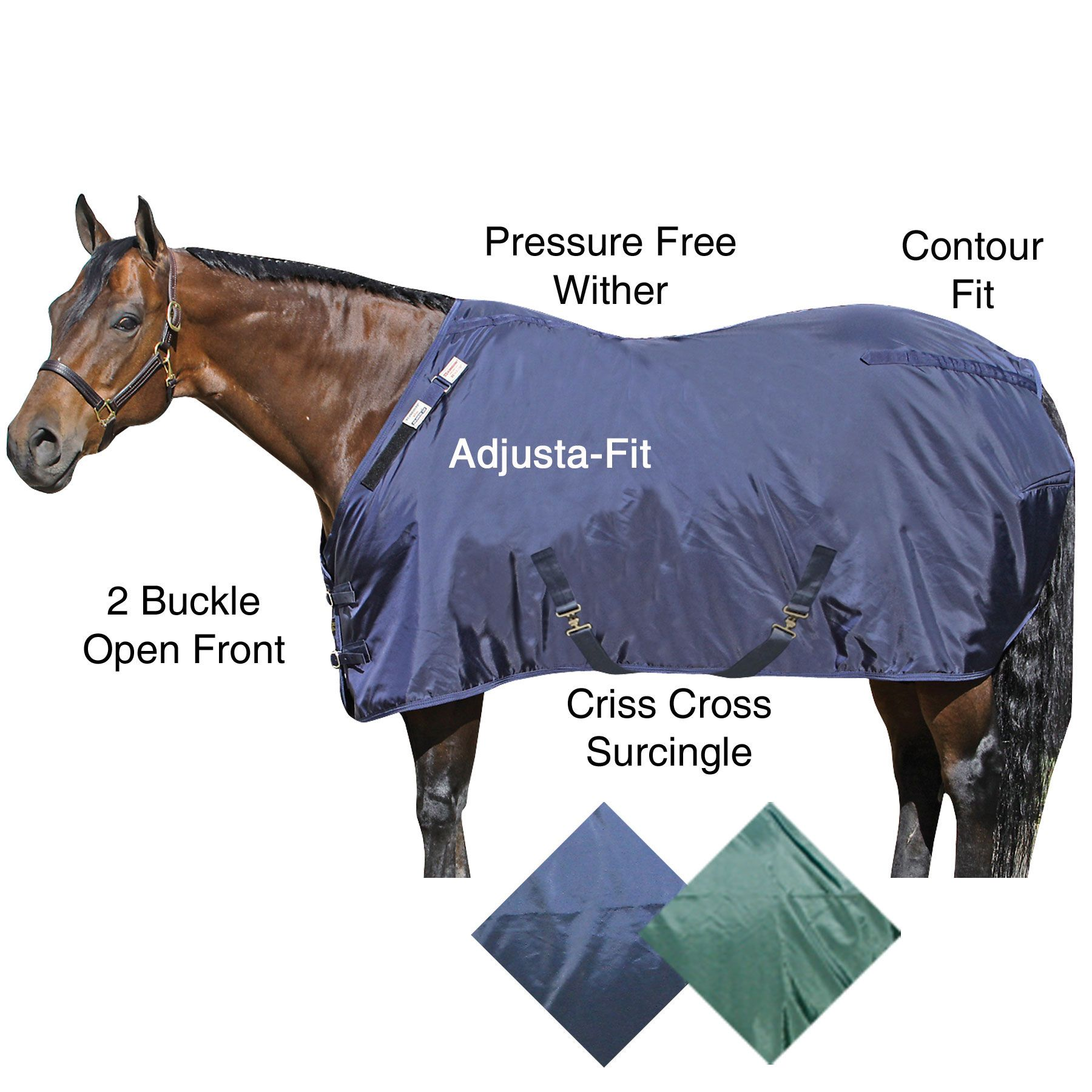 how to properly measure a horse for a blanket
