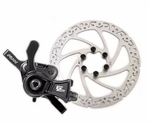 Funn Ezr Mechanical Disc Brake W Rotor Products Bicycle Brakes