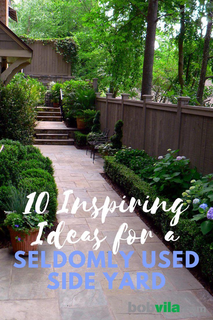 10 Inspiring Ideas for Your Side Yard | Side yard ... on Narrow Side Yard Landscaping id=37158