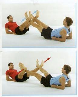 noequipment partner workout  fitnesstreats