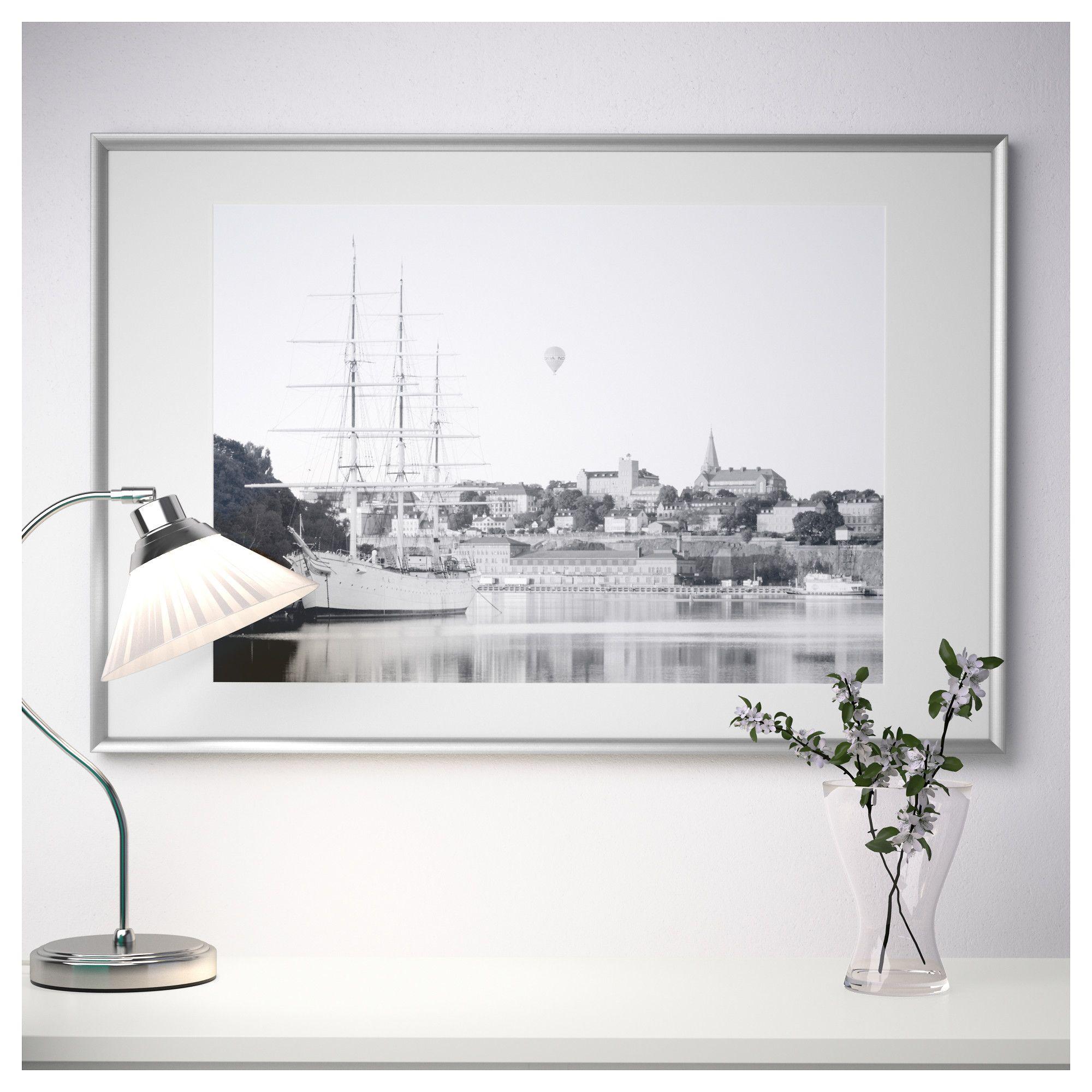 9815224e09e3 IKEA - SILVERHÖJDEN Frame silver color